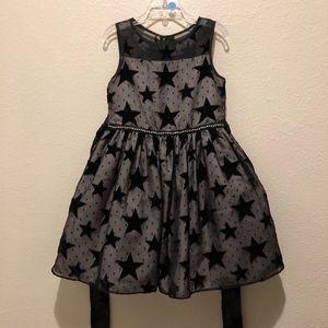 Sheer Star Dress